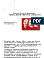 Historia de Las Doctrinas Economic As Eric Roll Noruego Parte 99
