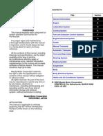Mazda 6 - Training Manual