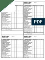 DeskProject GradingSheet