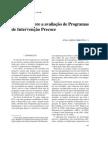Reflexões sobre a avaliação de Programas IP