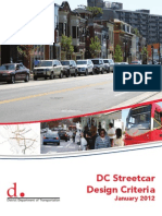 DC Streetcar Design Criteria - January 2012