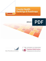 County Health Rankings & Roadmaps report