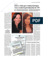 YPF y Cristina