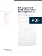 Social Media Savvy Cities Report