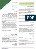 Senarai Doa Al-Mathurat Sughro - dengan Terjemahan - http://fb.com/mathurat