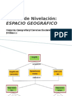U.Nivelación. Espacio Geográfico - 5°