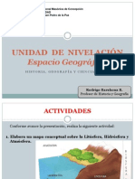 U.Nivelación. Espacio Geográfico - 8°