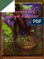 Memorial De Un Cantor Tulio Bustos