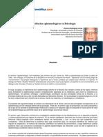 Tendencias Epistemologicas en Psicologia