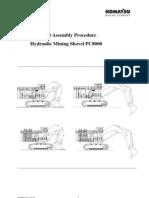 81247010 Komatsu PC8000 Hydraulic Mining Shovel Assembly Procedure Manual Rev 02 2004