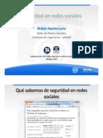 SeguridadenredessocialesII2012