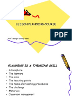 Planing is a Thinking Skill