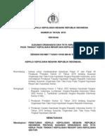Perkap No 23 Th 2010 Ttg Susunan Org Dan Tata Cara Kerja Polres