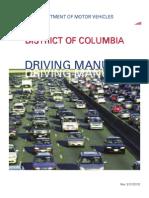 District of Columbia Drivers Handbook | District of Columbia Drivers Manual | Washington DC Drivers Handbook | Washington DC Drivers Manual