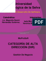 CATEGORÍA DE ALTA DIRECCIÓN (DIR) expo