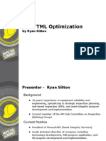CML Optimization Ryan Sitton