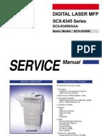SCX-6345n Service Manual