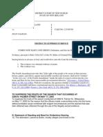 Basic Motion to Suppress - Joseph Brewster - POLS 344