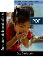 Anallisis de Factores Que Impiden La Sustentabilidad Hidrica