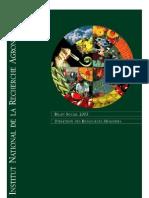 INRA Bilan Social 2003