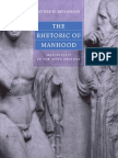 Roisman Joseph - The Rhetoric of Manhood. Masculinity in the Attic Orators