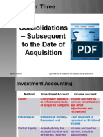Chap 3 consolidations - subsequent to the date of acquisition