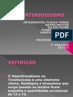 hipertireoidismo
