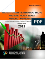 PDRB Papua Barat Menurut Penggunaan 2011