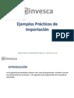 invesca-ejemplos-importacion