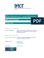 Mechanical Ventilation Skills and Techniques Update 2011
