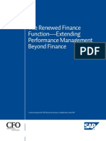 The Renewed Finance Function