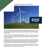 Energia eolica en Venezuela