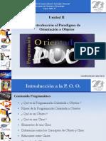 Unidad 1. Introduccion Al Paradigma de Orientacion a Objetos