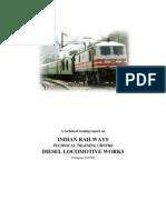 summer training report on dlw varansi
