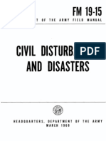 FM 19 15 Civil Disturbances and Disasters