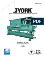 YCWL-Water Cooled Scroll 50-150T R410A