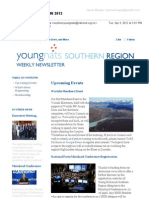 Weekly Newsletter #6 2012