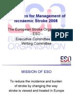 ESO Stroke Guideline 2008