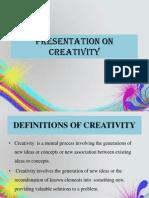 Creativity Ppt