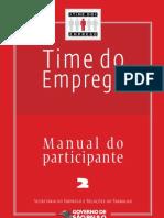 Time Do Emprego - Manual Do Participante