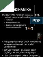 HIDRODINAMIKAmaterifiskes