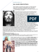 Iisus, marele iniţiat din Dacia