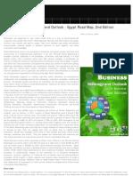 Social Business Strategic Outlook Road Map Egypt, 2012