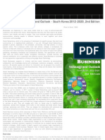 Social Business Strategic Outlook 2012-2020 South Korea, 2012