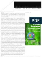 Social Business Strategic Outlook 2012-2020 Latin America & Caribbean, 2012
