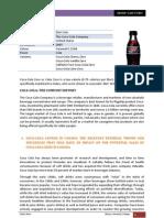 Coca Cola Zero [B2B Group Case Study]