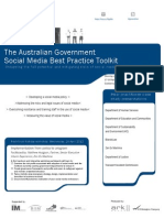 Government Social Media Best Practice Toolkit
