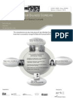 Getting more from your balanced scorecard