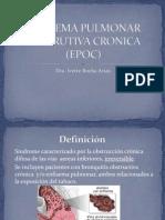 Clase 4 - Enfisema Pulmonar Obstrutiva Cronica