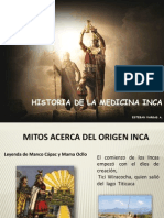 Diapositivas Historia de La Medicina Inca